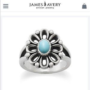 James Avery de Flores ring 8 RETIRING soon SIZE 8